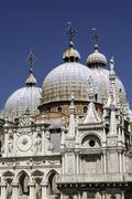 san marco basilica. - stock photo