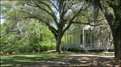 Louisiana Rosedown Plantation kitchen House 4k Stock Footage