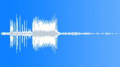 Alien ship ignition failure - sound effect