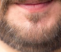 Beard. macro Stock Photos