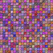 Stock Illustration of Colorful glazed tiles seamless generated hires texture
