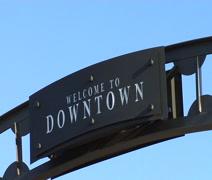 South Dakota B Roll- Downtown Stock Footage