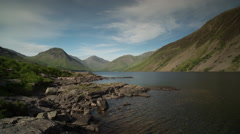 Wastwater lake district cumbria  Stock Footage