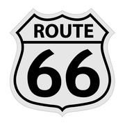 Route 66 sign illustration Piirros