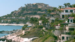 Los Cabos Big Houses Scenic B-Roll Stock Footage