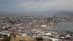 Ensenada Mexico Scenic B-Roll with Pan Stock Footage