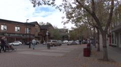 Calgary - Kensington - 1920 X 1080 HD Stock Footage