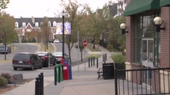 Calgary - Marda Loop Neighborhood - 1920 X 1080 HD Stock Footage