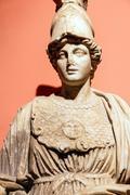 Athena ( minerva ) goddess of wisdom Stock Photos