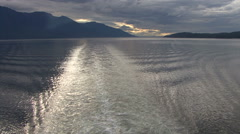 Inside Passage - Vancouver Alaska Stock Footage