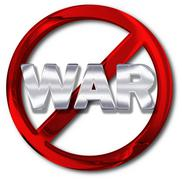 peace or anti-war concept - stock illustration