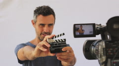 Making movies is fun - stock footage