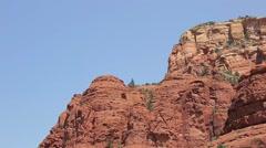 Church of the Holy Cross, Sedona, Arizona Stock Footage