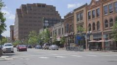 Main Street USA Stock Footage