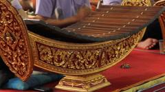 Thai music Stock Footage