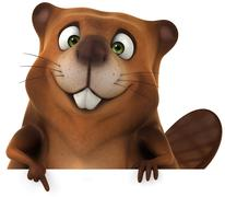 Beaver Stock Illustration