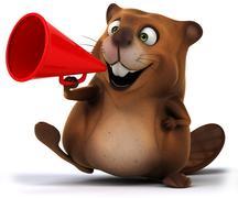 Stock Illustration of beaver