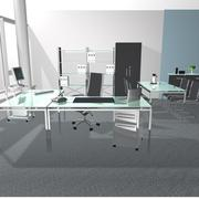 3d model of Full office set