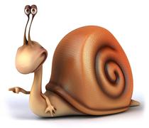 Stock Illustration of snail