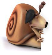 Stock Illustration of snail
