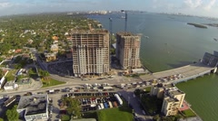 Stock Video Footage of Condo Construction