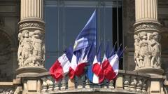 France - Alsace - Strasbourg - Le palais du Rhin Stock Footage
