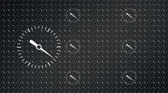 Speedometer  acceleration background - stock footage