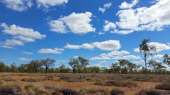Outback Australia Landscape Stock Footage