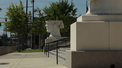 Lafayette LA courthouse Stock Footage