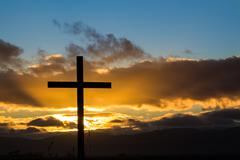 new cross hope - stock photo