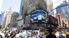 NYC B Roll - Times Square 1 Stock Footage