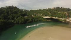 Barrinha-Rio-de-janeiro-Jet-ski Stock Footage