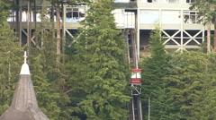 View of Ketchikan, Alaska Harbor - USA Stock Footage