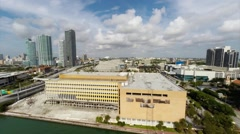 Miami Herald Building Demolition Stock Footage