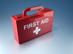 First aid box Stock Illustration