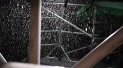 Rain water Stock Footage