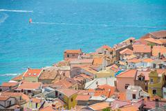 Baska, Krk, Croatia, Europe. - stock photo