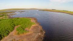 Danube delta national park Stock Footage