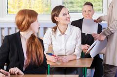 Stock Photo of students ready for an exam