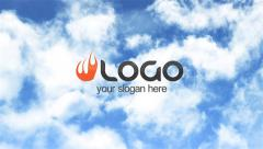 Clouds Logo - stock after effects
