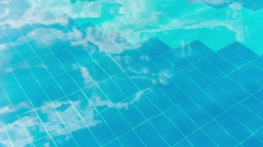 Abstract water background motion texture Stock Footage