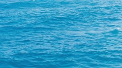 Sea waves water background motion texture Stock Footage