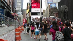NYC B Roll - Times Square 5 Stock Footage
