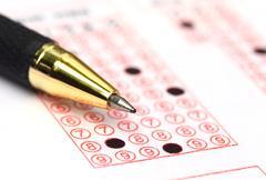 Filling registration form Stock Photos