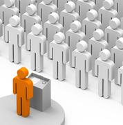 The audience Stock Illustration