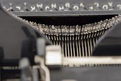 type bars detail - stock photo