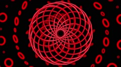 Magnetic Field VJ Loop 8 Stock Footage