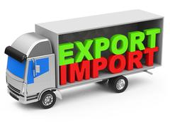 import and export - stock illustration