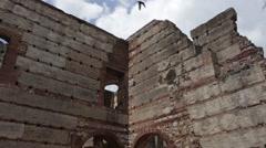 Colonial Ruins in Santo Domingo Stock Footage