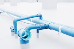 Water Pipeline Stock Illustration